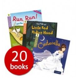 Oxford Reading Tree Traditional Tales (20 books collection) - Free Shipping