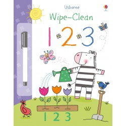 [Clearance] Usborne Wipe-Clean - 123