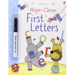 Usborne Wipe-Clean - First Letters