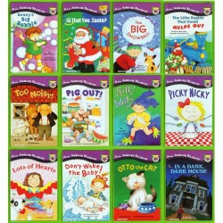 All Aboard Reading: Picture Reader Collection (12 Books) + Free Flash Cards - Paperback