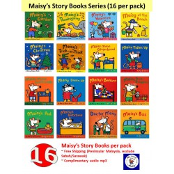 Maisy's Story + Sticker + Sweet Dreams, Maisy Collection (17 Books) - Free Shipping