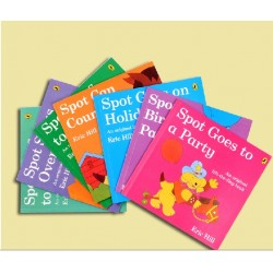 [Warehouse Sale] Eric Hill SPOT Collection  (7 Books) - An Original Lift-the-Flap Book - Paperback