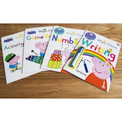 Peppa Pig - Practise with Peppa Wipe-Clean Collection (4 Books) – Paperback
