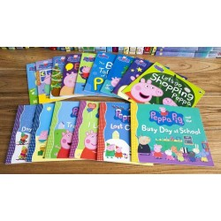 Peppa Pig Story Books Collection No. 3 (15 Books Set) – Free Shipping