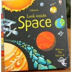 Usborne - Look inside Space [Age 5+] - Board Book