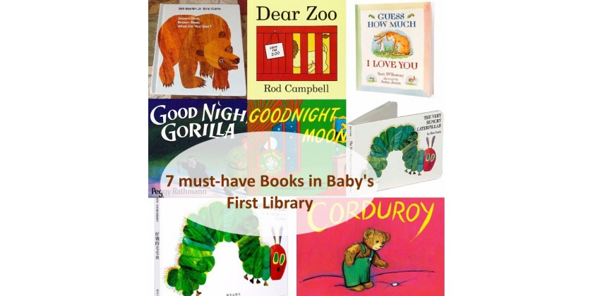 7 Must-have Books in Baby's First Library