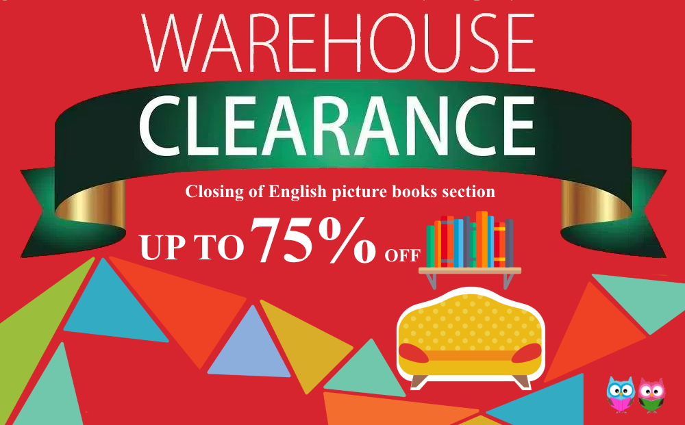 English Picture Books Warehouse Clearance Sales! Limited Stock, Hurry!!